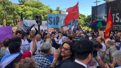 Photo of Masiva marcha en apoyo a trabajadores de C5N