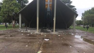 Photo of Morón: vándalos destruyeron el Monumento a los Caídos en Malvinas erigido en El Palomar