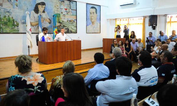 Zabaleta abrió las sesiones del Concejo Deliberante de Hurlingham