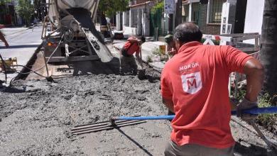Photo of Avanzan las obras: continúa el Plan Integral de Bacheo en todo Morón