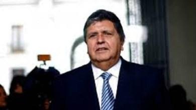 Photo of Alan García, ex presidente de Perú, se disparó en la cabeza