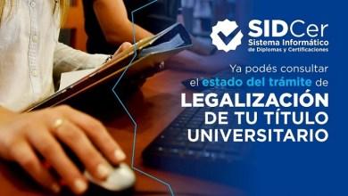 Photo of Ya se puede consultar el estado del trámite de legalización del título universitario de manera online