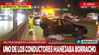 Photo of Borracho al volante chocó de atrás a un Uber y mató a la pasajera