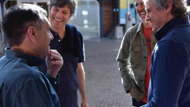 """Photo of Pergolini, Finocchiaro y Sánchez Zinny en el encuentro """"Jóvenes por la Educación"""""""