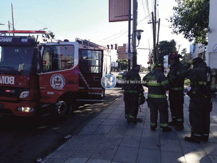 Hurlingham: Intentaron prender fuego una sucursal del Banco Itaú