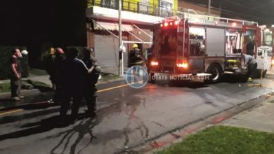 Photo of Hurlingham: Tres dotaciones de Bomberos trabajaron para controlar un incendio
