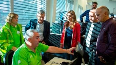 Photo of Vidal, Macri y Larreta visitaron el centro de monitoreo municipal de Lanús
