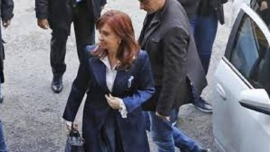 Photo of Cristina Kirchner en Comodoro Py por la causa Vialidad