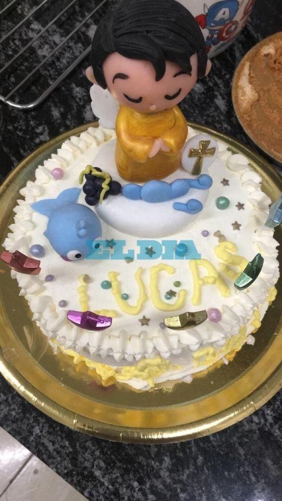 En el día del cumple de Lucas Lin, una torta sin velas y cargada de reclamos de justicia