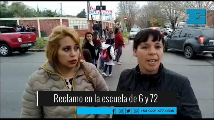 Revuelo y protesta en un colegio de La Plata por presunta ola de renuncias docentes