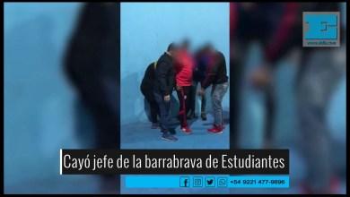 Photo of Así cayó un jefe de la barrabrava de Estudiantes mientras estaba jugando al paddle