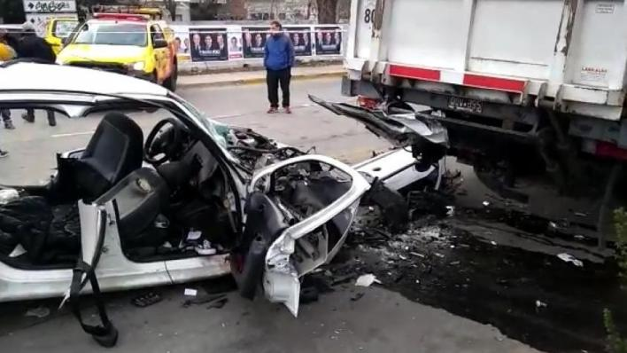 Video: tres chicas murieron en un trágico accidente