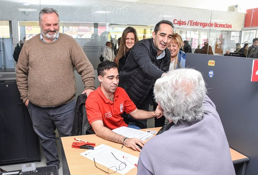 Tagliaferro inauguró el nuevo edificio de Licencias de Conducir de Morón