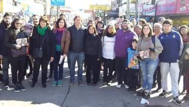 Photo of Christian Castillo recorrió las calles de Laferrere
