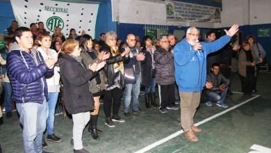Photo of Miguel Federico presentó la lista Verde que competirá por la conducción de ATE