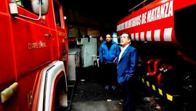 Photo of Alejandro Finocchiaro visitó el Cuerpo de Bomberos Voluntarios de La Matanza