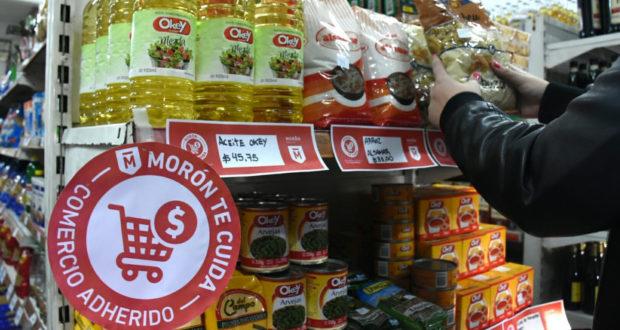 Morón lanzó un programa de precios mayoristas, para competir con las grandes marcas en comercios y almacenes
