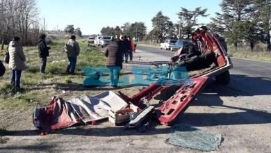 Photo of La Plata: un muerto en un terrible accidente sobre ruta 36