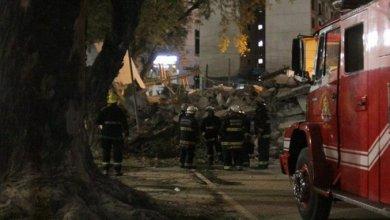 Photo of Derrumbe de un edificio en el partido de Tres de Febrero