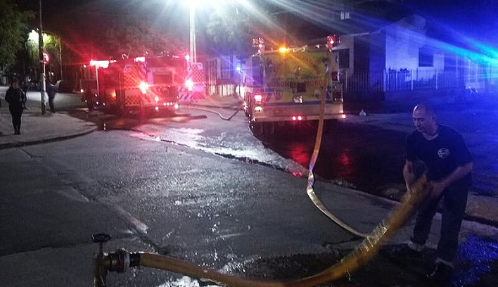 Hoy Morón: Incendio en depósito de Gendarmería