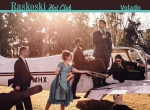 Photo of Raskoski Hot Club presenta su tercer disco: «Volado»