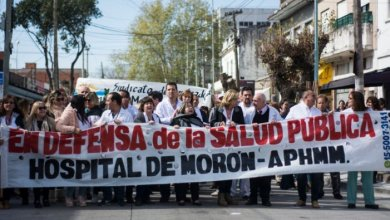 Photo of Morón: movilización al municipio ante la falta de insumos en el Hospital local