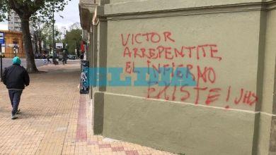 Photo of Reiterados ataques a la fachada del Arzobispado de La Plata: «Son grupos contrarios a la visión del Papa Francisco»