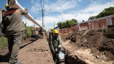 Photo of Aysa finalizó la obra de agua corriente en Tres de Febrero