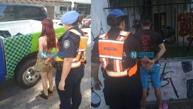 Photo of Vendían estupefacientes en Morón y fueron captados por las cámaras de seguridad