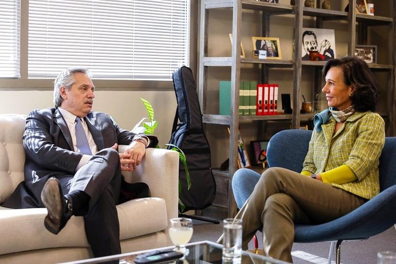 """Alberto Fernández fue felicitado por los embajadores de la Unión Europea: """"Vamos a seguir reforzando los lazos de amistad y cooperación"""""""