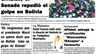 Photo of #Buen Viernes Leé la edición impresa de Diario NCO del 15-11-2019