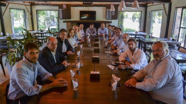 Juntos por el Cambio se reunió en La Plata para definir su futuro