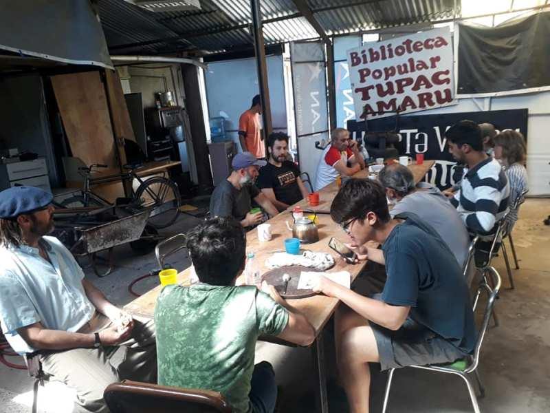 Biblioteca Popular Tupac Amaru, un sueño de autogestión e independencia