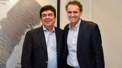 Photo of Reunión clave: Fernando Espinoza y Gabriel Katopodis