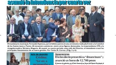 Photo of #Buen Lunes Leé la edición impresa de Diario NCO del 16-12-2019