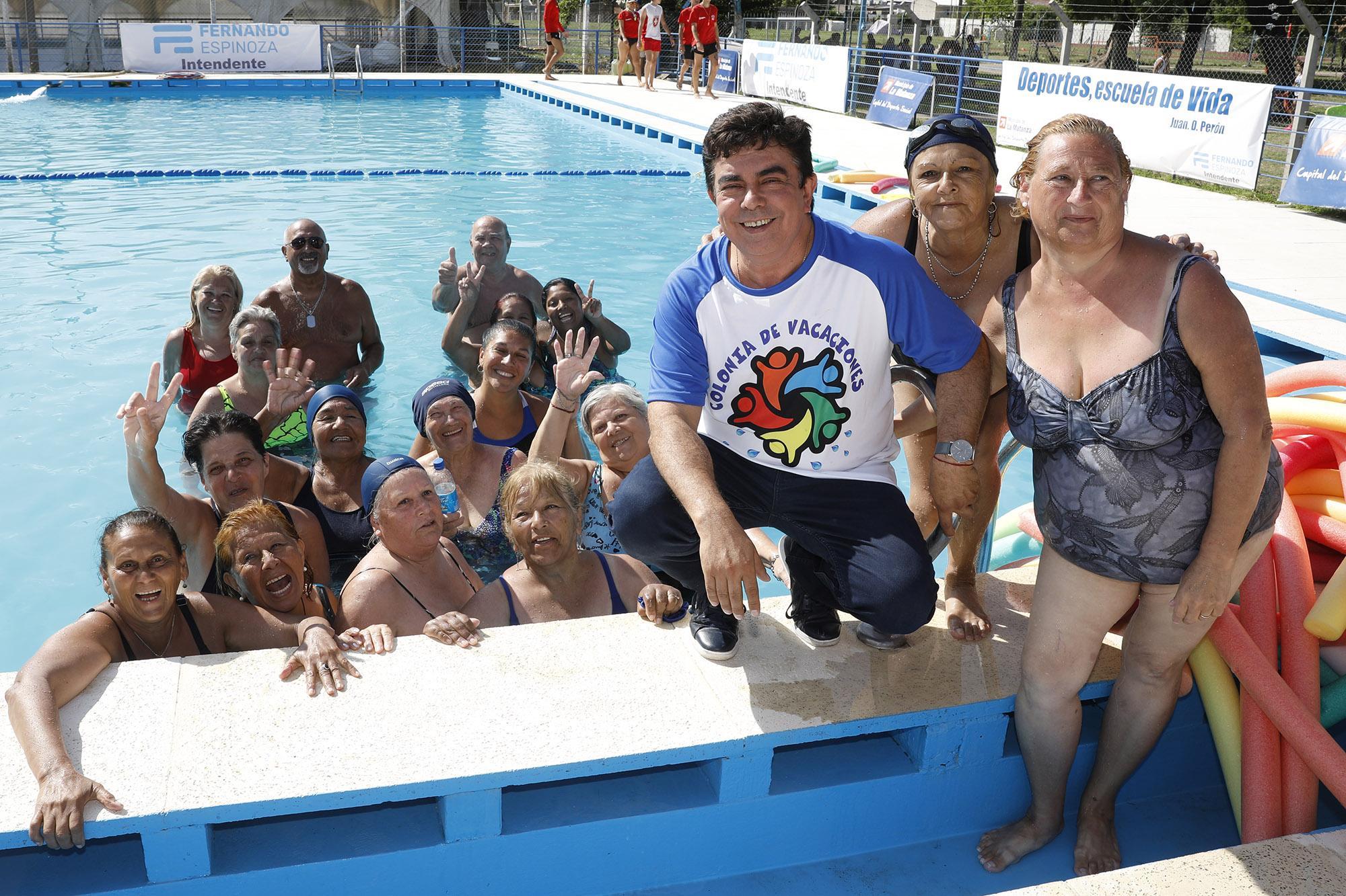 """Fernando Espinoza: """"Ponemos toda nuestra estructura en funcionamiento para que nuestros chicos puedan disfrutar de su colonia de vacaciones"""""""