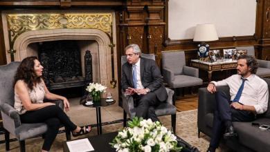 Photo of Cristina Caamaño, la interventora de la AFI, se reunió con Santiago Cafiero