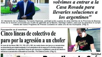 Photo of #Buen Viernes Leé la edición impresa de Diario NCO del 17-01-2020