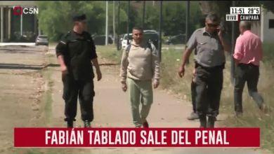 Photo of Fabián Tablado salió de la cárcel tras 23 años preso