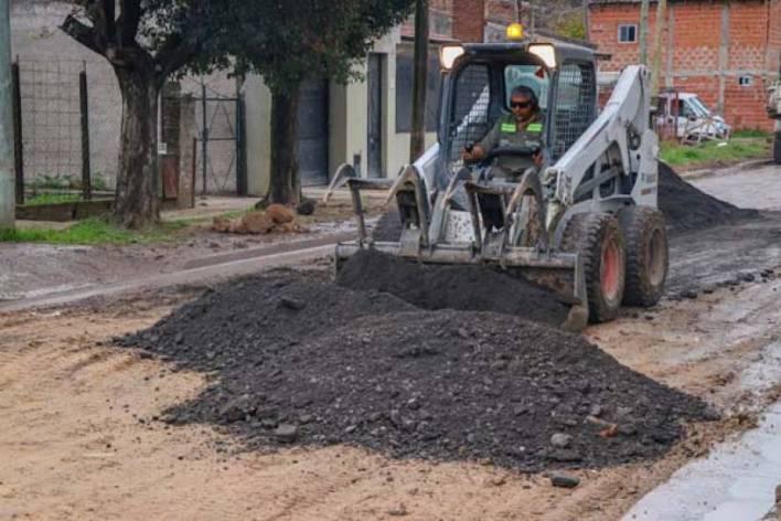 En Morón y Haedo siguen los desvíos por trabajos de bacheo
