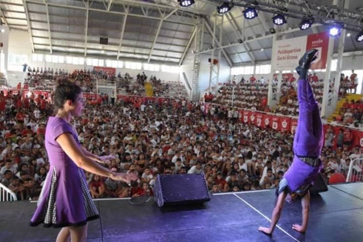 Gran fiesta en el cierre de las colonias de verano municipales en Morón