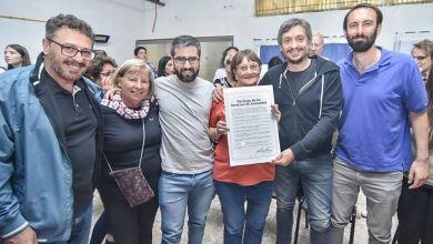 Photo of Hurlingham | Máximo Kirchner y Martín Rodríguez visitaron un Centro de Jubilados de Villa Tesei