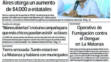 Photo of #Buen Viernes Leé la edición impresa de Diario NCO del 21-02-2020