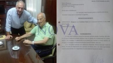 Photo of Jorge Laviuzza recibió de Raúl Losada un proyecto de planta para el tratamiento de residuos sólidos urbanos