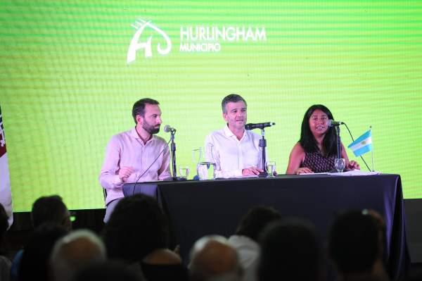 """Zabaleta abrió las sesiones del Concejo Deliberante: """"No hay modelo de Hurlingham sin modelo de provincia y de país"""""""