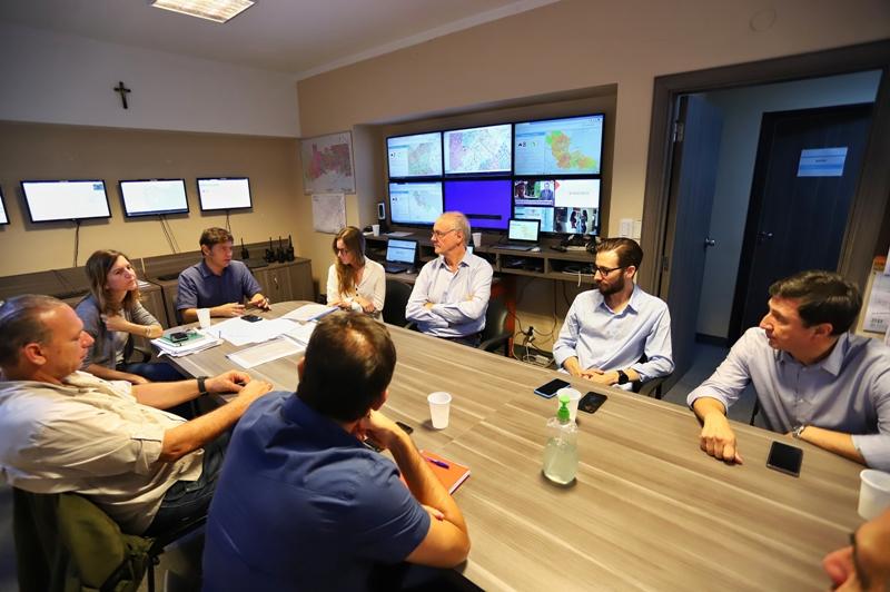 Kicillof encabezó la reunión del Comité de Emergencia