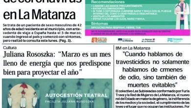 Photo of #Buen Jueves Leé la edición impresa de Diario NCO del 12-03-2020