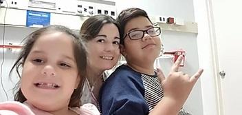 Yissel Cannata se recupera favorablemente de su trasplante bipulmonar