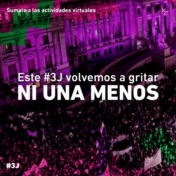 """Colectivo de activistas #NiUnaMenos: """"Nos sostienen las redes feministas"""""""