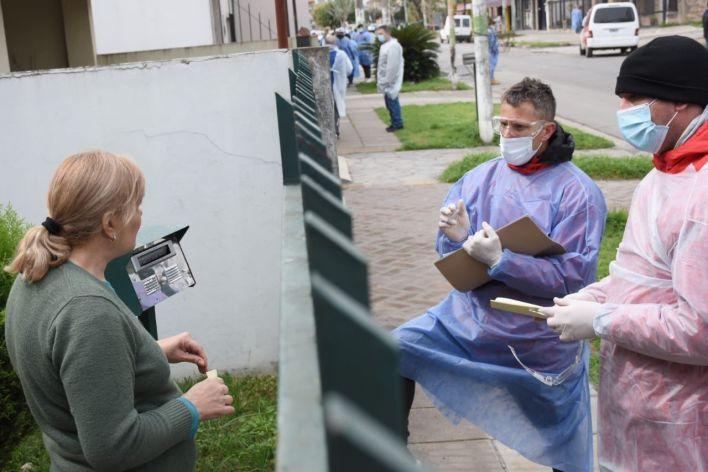 Operativo DETeCTar en el barrio Santa Rosa